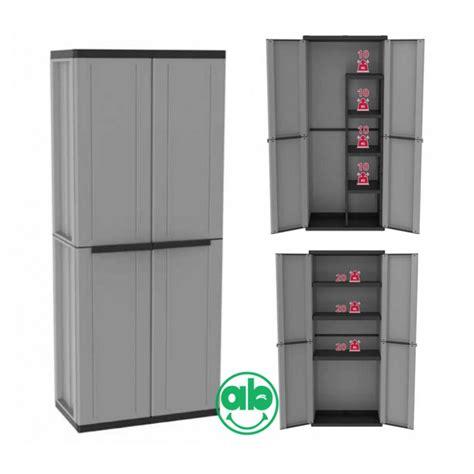 armadietti per esterno in resina armadio da esterno in plastica armadietto a 2 ante griglio