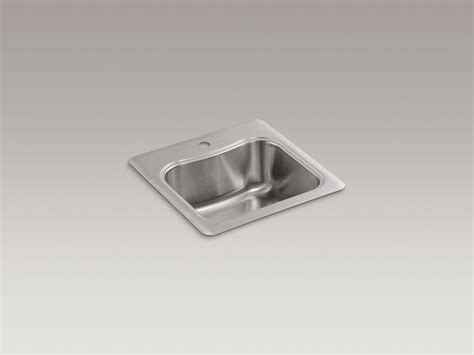 kohler bar sink stainless standard plumbing supply product kohler k 3363 1 na