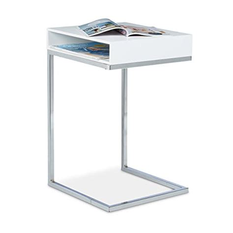 table d appoint pour canap relaxdays table basse hxlxp 61 x 37 x 38 cm table console