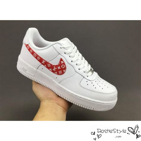 Supreme Nike Air 1 by Nike Classic Air 1 Low Supreme X Lv White