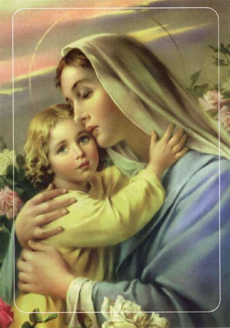 imagenes virgen maria y el niño jesus galer 237 a de im 225 genes religiosas