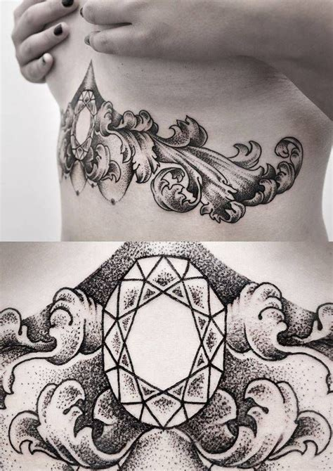 tattoos under your breast best 25 baroque ideas on baroque
