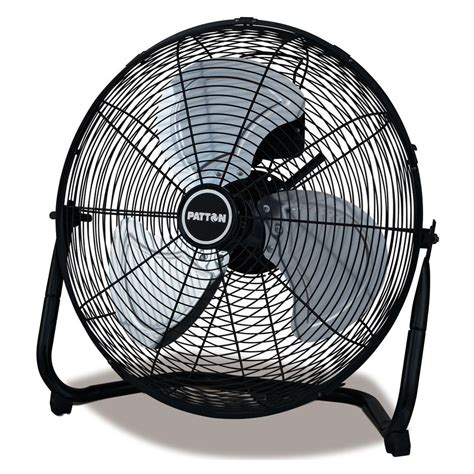high velocity fan home depot patton 18 in 3 speed high velocity fan puf1810bbm the