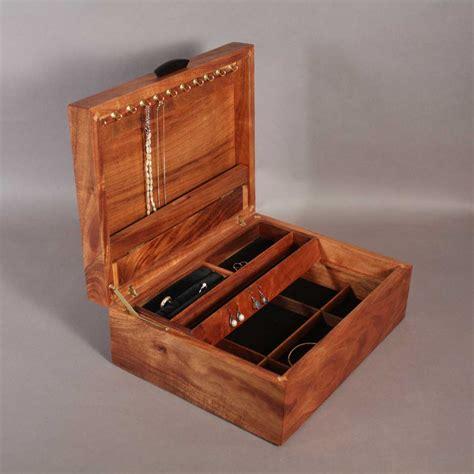 make jewelry box koa jewelry box