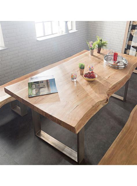 tavole da cucina tavolo da cucina legno di castagno e gambe in ferro