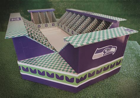 How To Make A Stadium Out Of Paper - how to build a bowl snack stadium offbeat home