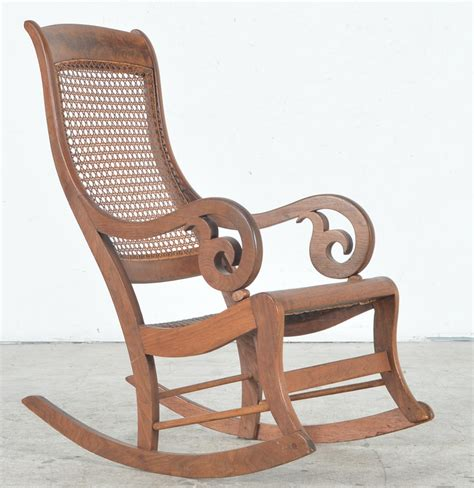 antique back rocking chairs antique rocking chair with seat and back ebth