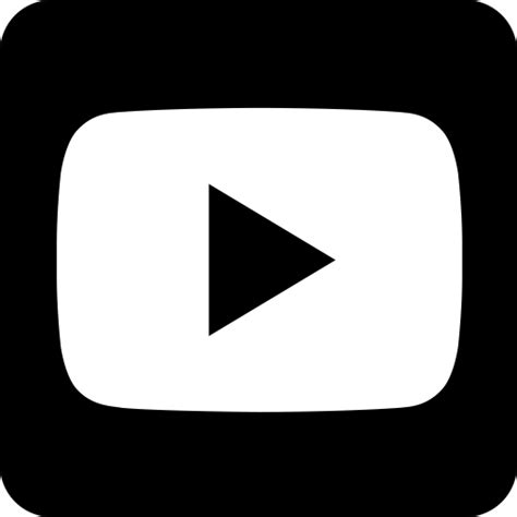 black youtube youtube app logo black and white pictures to pin on