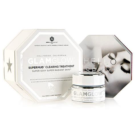 Glamglow Detox Mask by Glamglow Supermud Clearing Treatment Mud Skin