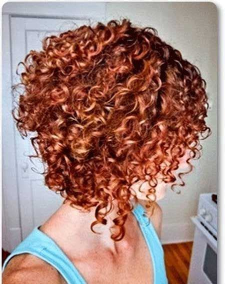 stacked bob haircut pictures curly hair curly stacked bob google search hair pinterest