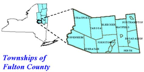 map of fulton county fishing spots in fulton county nys dept of
