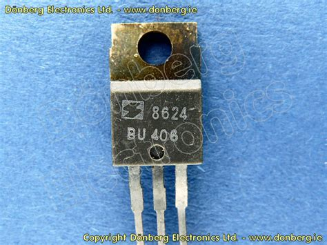 semiconductor bu bu  transistor silicon npn