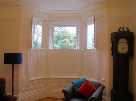 solid shutters interior window bay window shutters hshire dorset shuttersouth