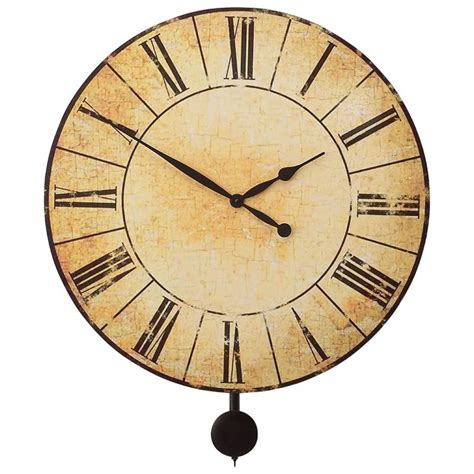 extra large wall clock extra large pendulum wall clock edward meyer