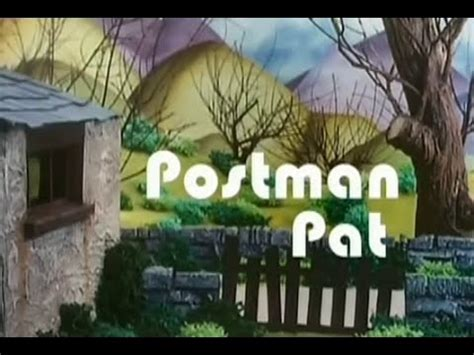 postman pat series 1 intro (1981) youtube