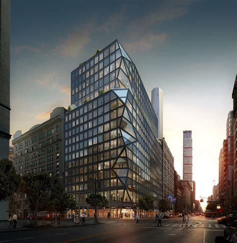 tower ny oma reveals their residential tower in new york