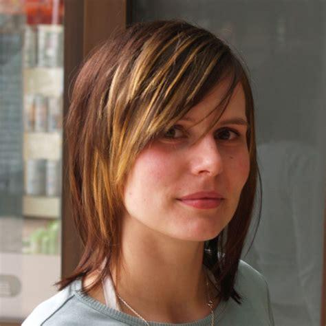 langhaarfrisuren glattes haar frisuren kurze haare