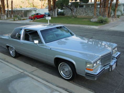 1985 cadillac coupe 1985 cadillac fleetwood brougham coupe 2 door 4 1l