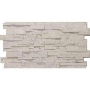 veneer home depot urestone stacked 50 antique white 24 in x 48 in