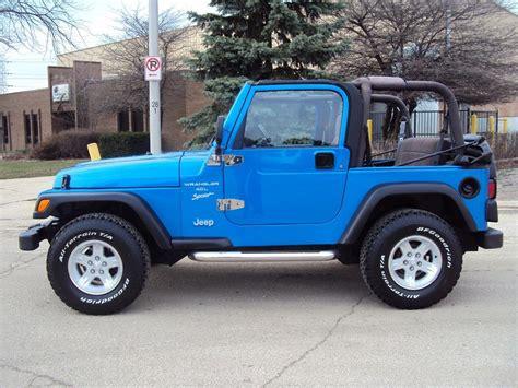 1999 Jeep Wrangler Sport Highland Motors Chicago Schaumburg Il Used Cars