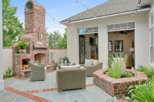 Houzz Outdoor Patios by Private Courtyard Traditional Patio New Orleans By