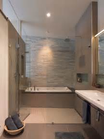 Modern Bath Shower bath shower combo houzz