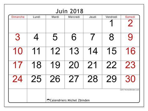 Calendrier 2018 Juin Calendriers Juin 2018 Ds