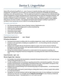demand planner resume sle planning cover letter