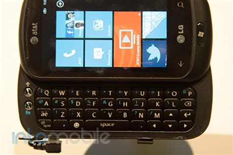 jump for qwerty lg quantum with windows phone 7 qwerty hits at t