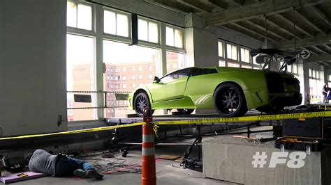 fast and furious 8 behind the scenes f8 movie filming showing stunt car scenes fast furious 8