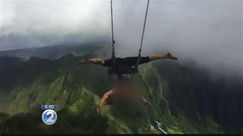 swinging hevern illegal haiku stairs swing will come down but others