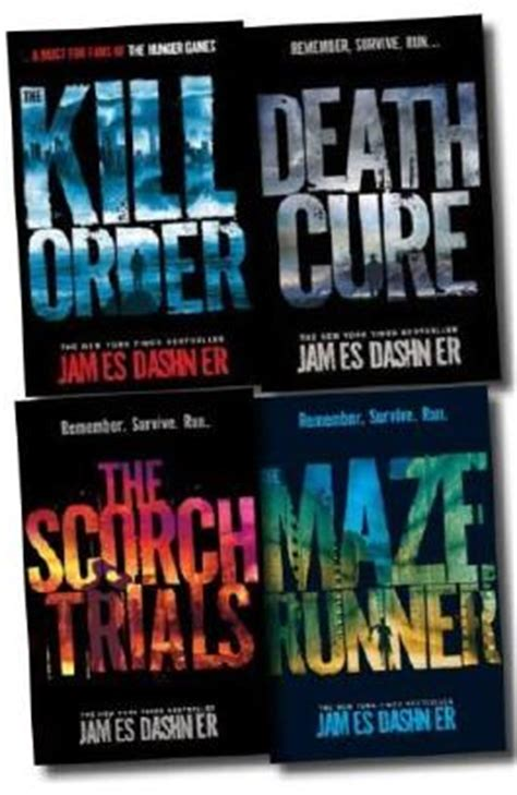 buch zum film maze runner maze runner collection 4 books set von james dashner bei