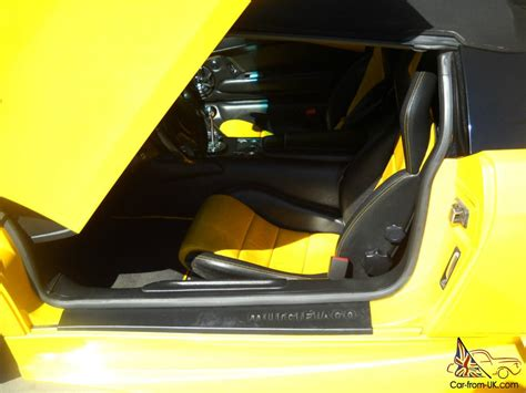 Lamborghini Murcielago Manual 2005 Lamborghini Murcielago Roadster Pearl Yellow 6 Speed