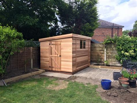 Timber Garden Shed by Cedar Garden Shed Buy Cedar Montrose Timber Garden Shed