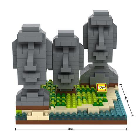 L6136 Loz Lego Nano Block One Sanji Kode Pl6136 4 jual lego loz architecture easter island nano block world uf uf store