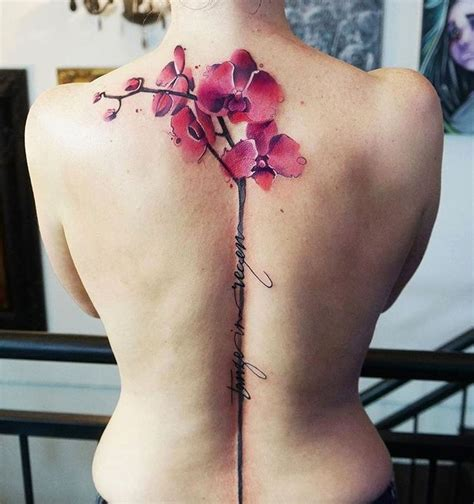 watercolor orchid tattoo 25 best ideas about watercolor orchid on