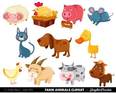 Clipart Farm Animals farm animals clipart images clipartsgram
