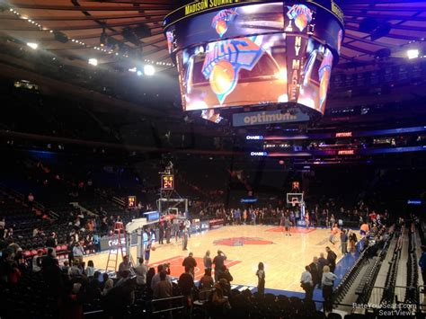 section 113 madison square garden madison square garden section 113 new york knicks