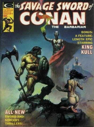 The Savage Sword Of Kull Volume 1 the highlight the return of kull
