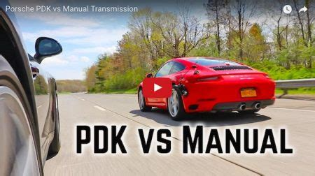 6 Reasons Pdk Is Better Than A Manual Transmission Flatsixes