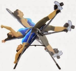 stretch back without inversion table inversion table