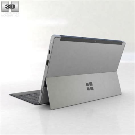 Cover Pro 3d microsoft surface pro with type cover 3d model hum3d