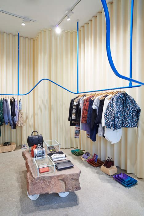 rubber st shop max surrounds opening ceremony boutique with