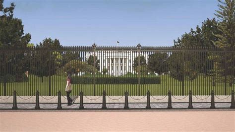 White House Fence by White House Fence Re Design Unveiled By Secret