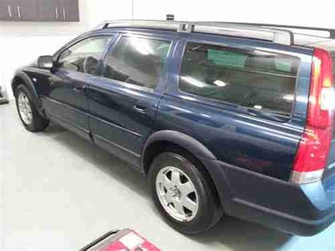 sell   volvo  vx  xc cross country awd turbo wagon  wheel drive blue
