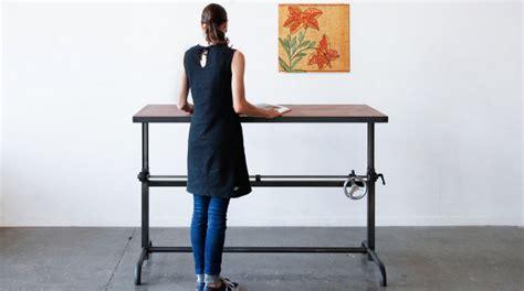 escritorios de pie escritorios de pie 191 moda o ant 237 doto contra el