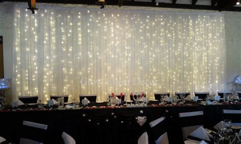 white backdrop with lights backdrops glow event decor