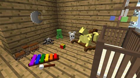 Minecraft Baby Crib Decocraft Mod For Minecraft 1 12 2 1 11 2 Minecraftred