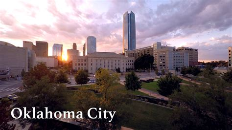 Mba For One Year Oklahoa City by Oklahoma City By Drone In 4k