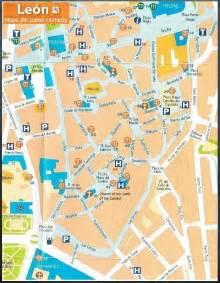 Leon Spain Map by Barrio H 250 Medo Leon Spain Weepingredorger